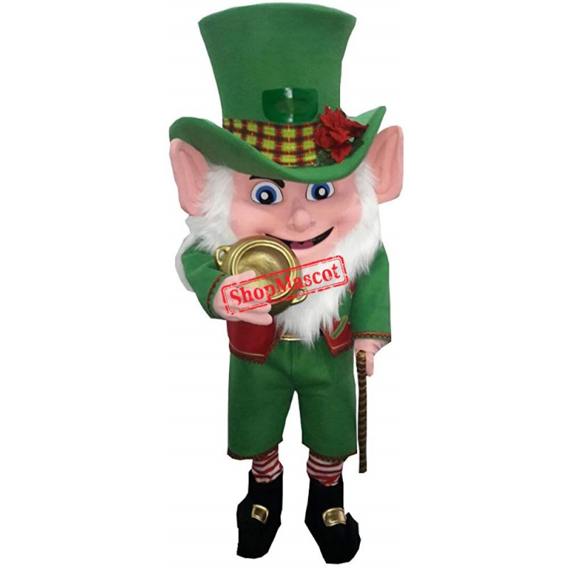 Leprechaun Irish Mascot Costume