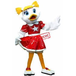 Dancing Duck Mascot Costume