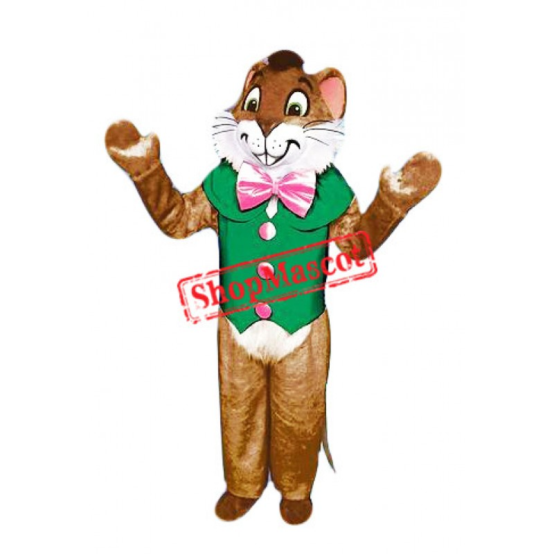 Christmas Mouse Mascot Costume Free Shipping
