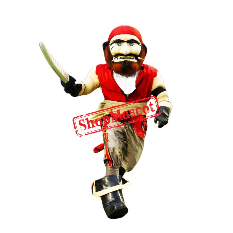 Sport Pirate Mascot Costume