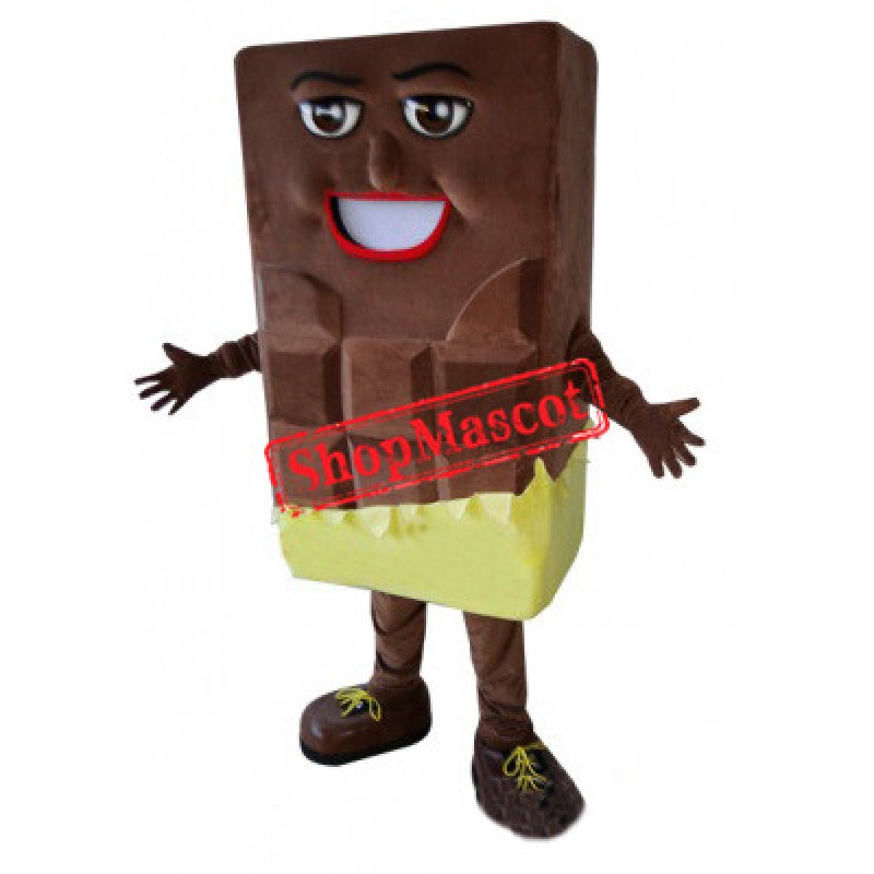 Chocolate Bar Mascot Costume