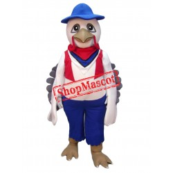 Top Quality White Turkey Mascot Costume