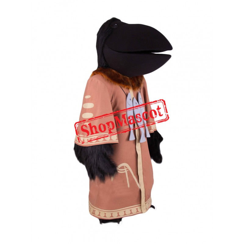 Top Quality Black Raven Mascot Costume
