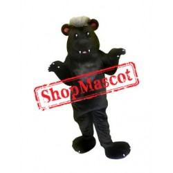 Black Badger Mascot Costume