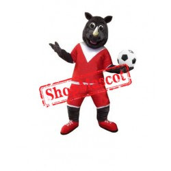 Football Rhino Mascot Costume