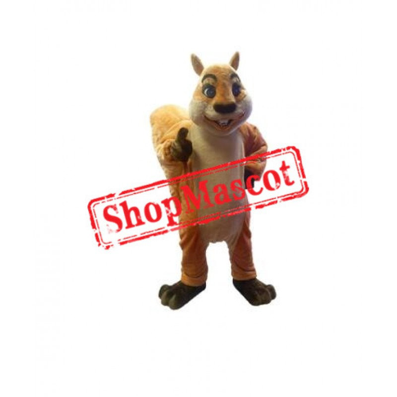 Best Quality Lightweight Squirrel Mascot Costume