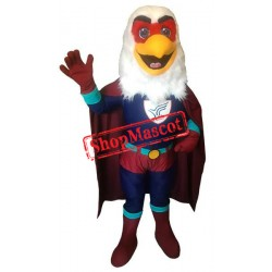 Superhero Eagle Mascot Costume