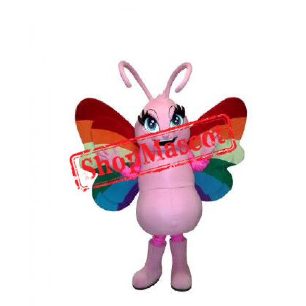 Nice Butterfly Mascot Costume