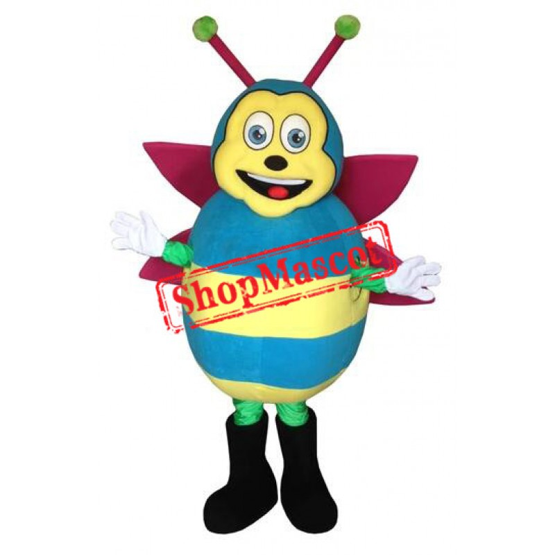 Colorful Bee Mascot Costume