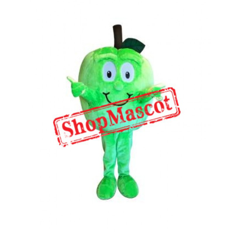 Top Quality Green Apple Mascot Costume