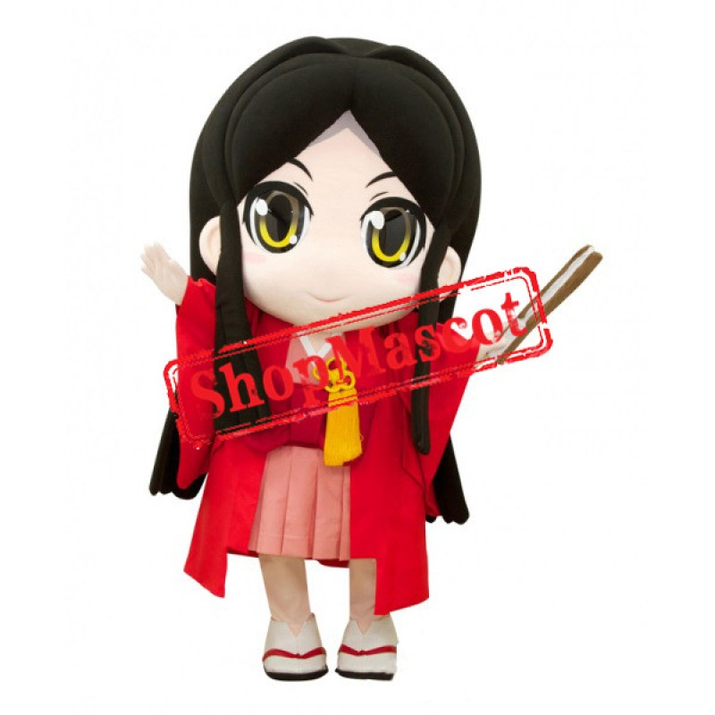 Japanese Girl Mascot Costume