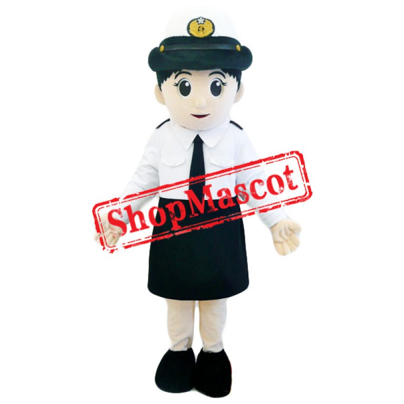 Air Hostess Mascot Costume