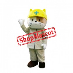 Rescue Cat Mascot Costume