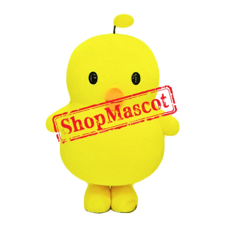 Big Yellow Chick Mascot Costume
