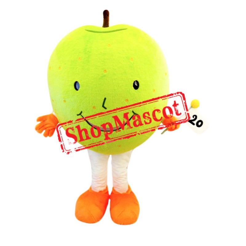 Giant Green Apple Mascot Costume