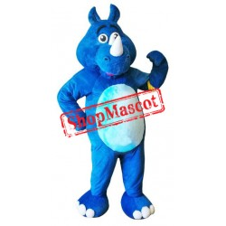Best Quality Blue Rhino Mascot Costume