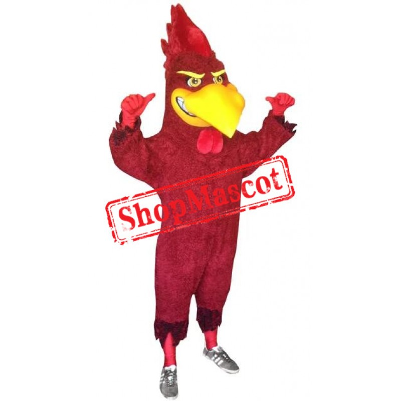 Sport Red Bird Mascot Costume