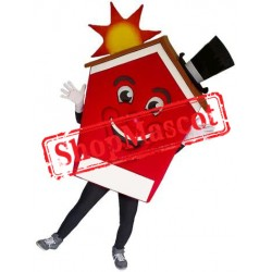 Happy Lightweight House Mascot Costume