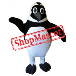 Black Penguin Mascot Costume
