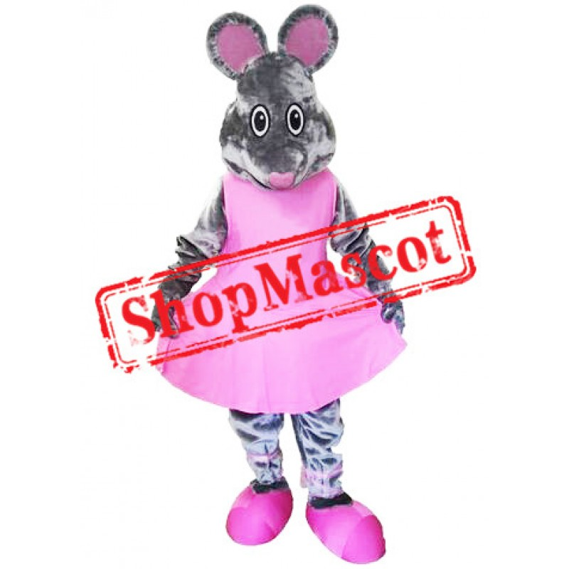 Dance Mouse Mascot Costume