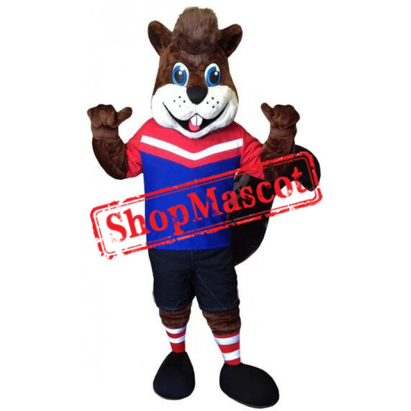 Sport Squirrel Mascot Costume