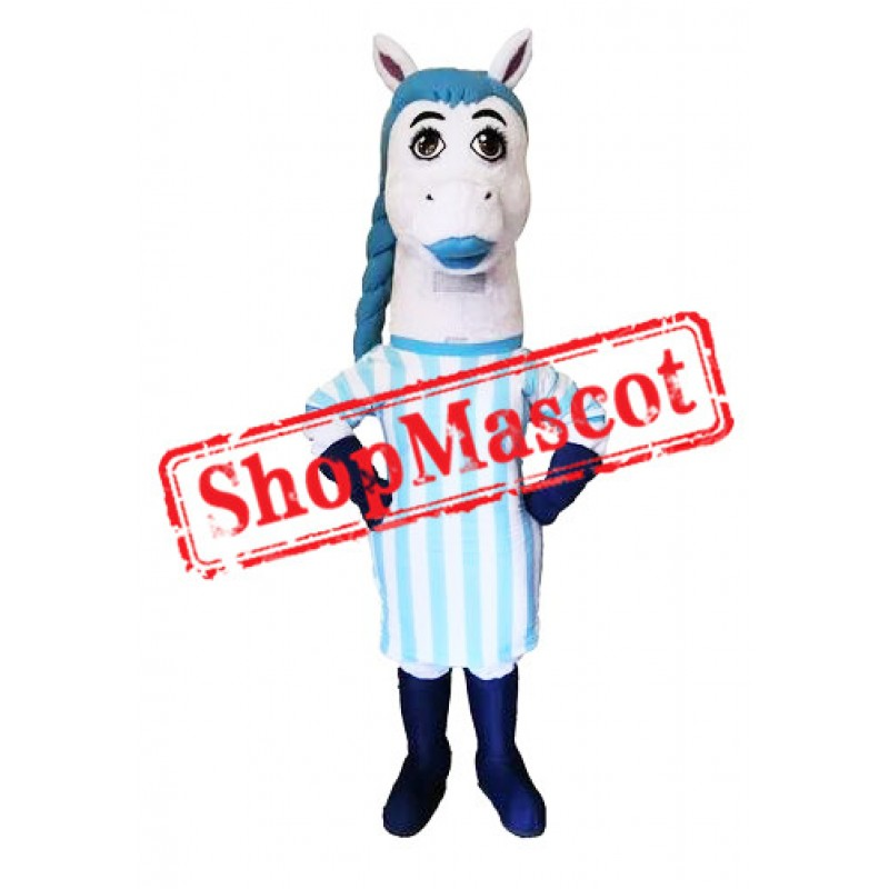 Female Team Horse Mascot Costume