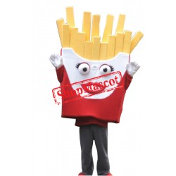 High Quality French Fries Mascot Costume