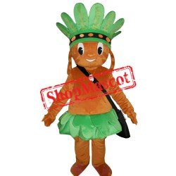 Primitive Man Mascot Costume