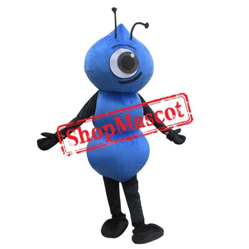 Cheap Blue Ant Mascot Costume