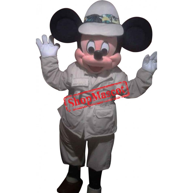 Top Quality Mickey Mascot Costume