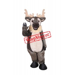 Winter the Reindeer Mascot Costume