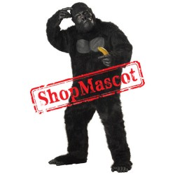 Top Quality Lightweight Gorilla Mascot Costume