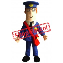 Cheap Postman Mascot Costume