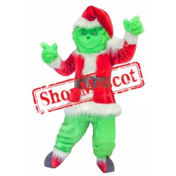 Cute Grinch Mascot Costume