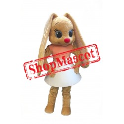Miss Rabbit Mascot Costume