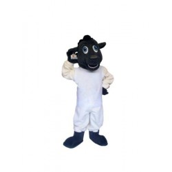 Black Sheep Mascot Costume