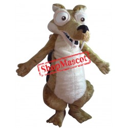 Ice Age Squirrel Mascot Costume
