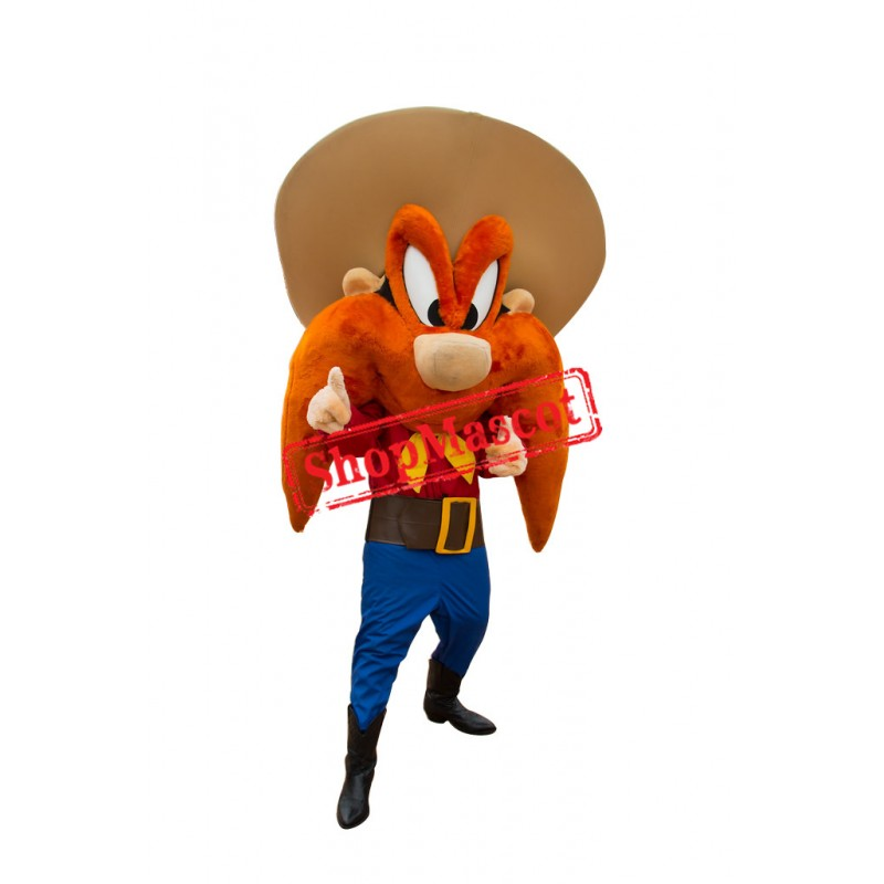 High Quality Yosemite Sam Mascot Costume
