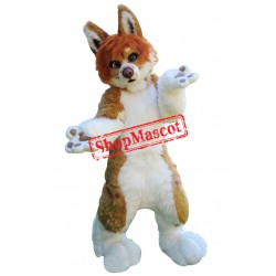 Super Cute Realistic Dog Mascot Costume
