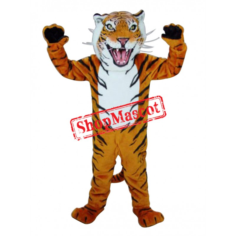 High Quality Bengal Tiger Mascot Costume