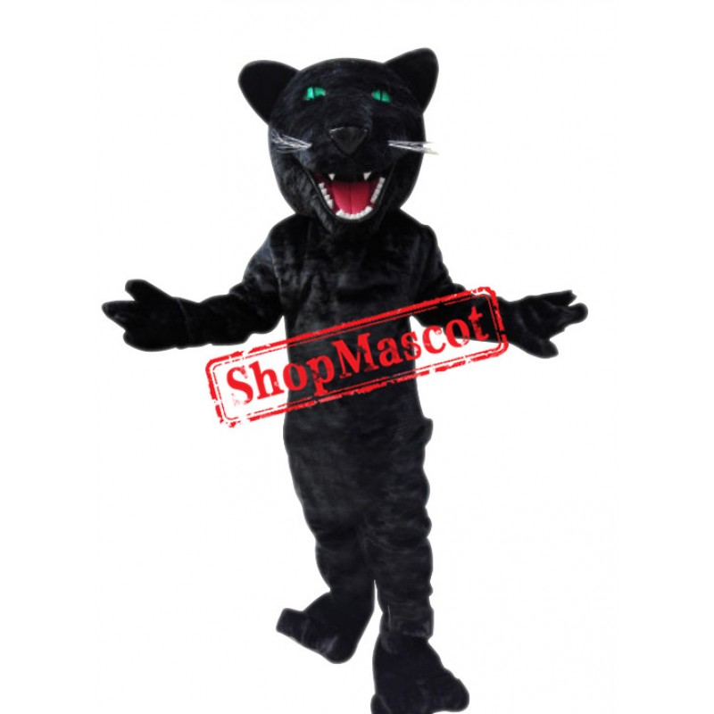 Cheap Lightweight Black Panther Mascot Costume