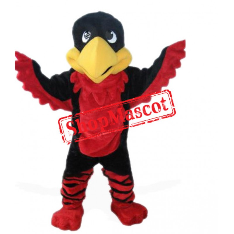 Cute Cardinal Bird Mascot Costume