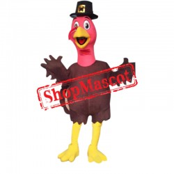 Animal Turkey Mascot Costume