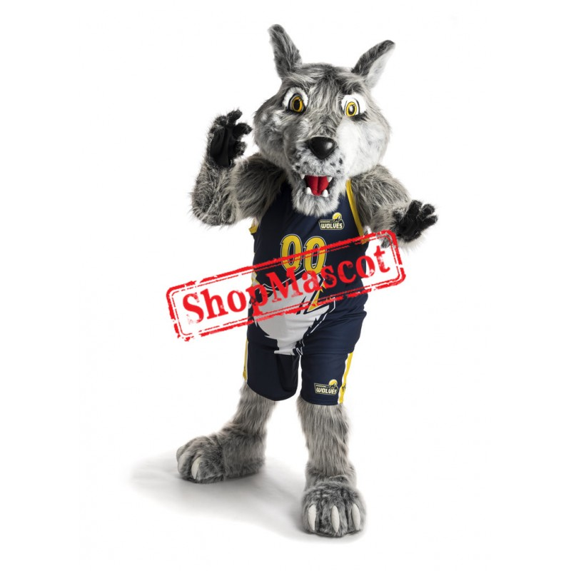 Top Quality Sport Wolf Mascot Costume