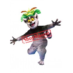 Top Quality King Julien Lemur Mascot Costume