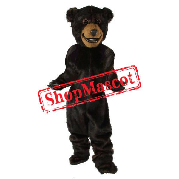Friendly Lightweight Grizzly Bear Mascot Costume
