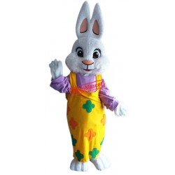 Beautiful Easter Girl Bunny Mascot Costume