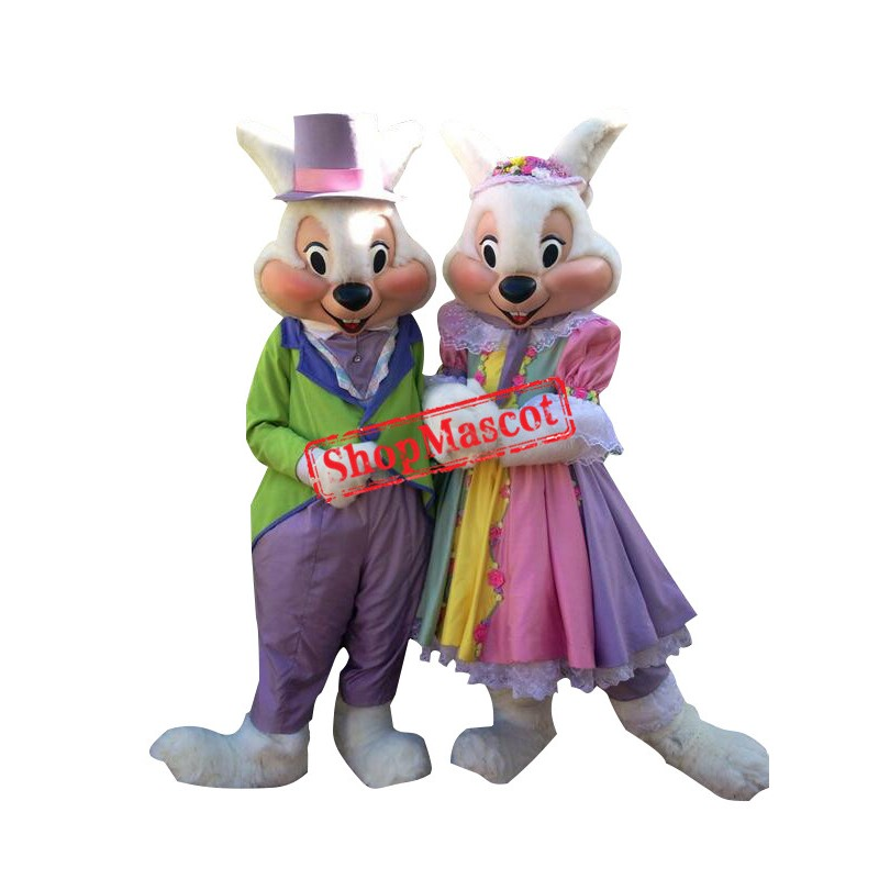 Mr. Or Mrs. Easter Bunny Mascot Costume