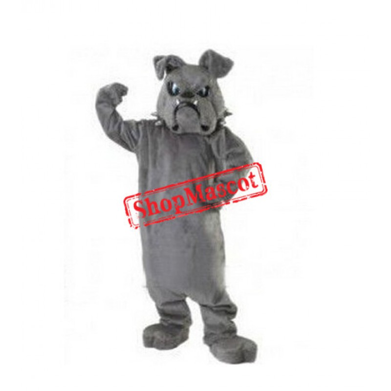 Fierce Lightweight Bulldog Mascot Costume