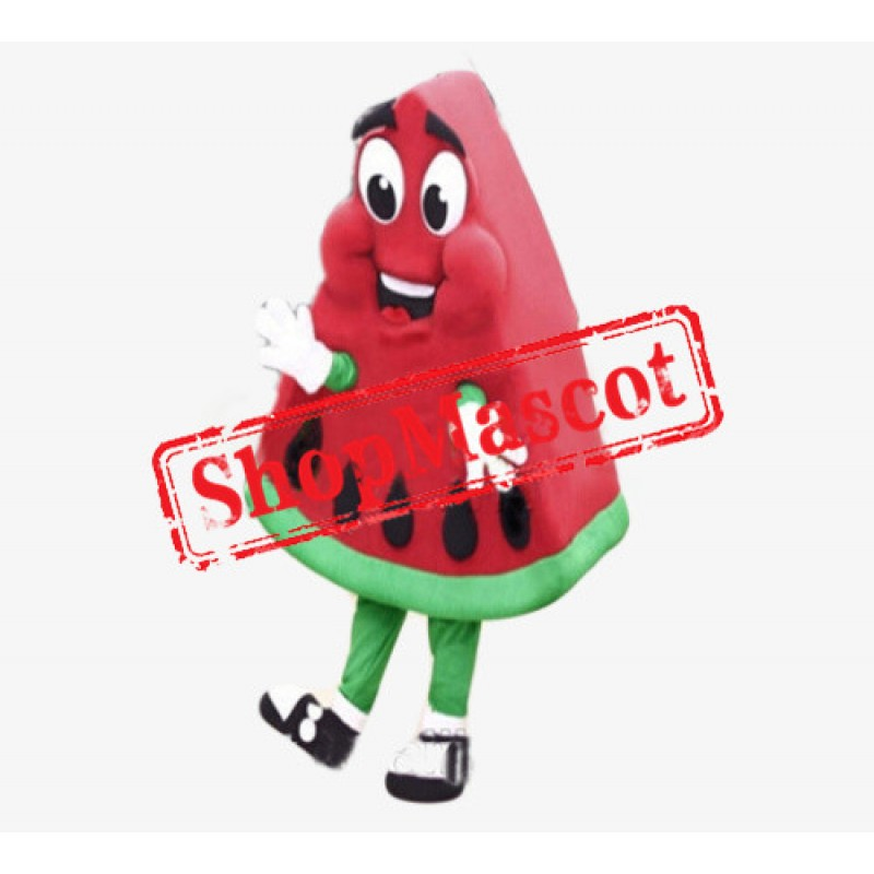 High Quality Watermelon Mascot Costume Adult Size Cartoon Happy Fruit Watermelon